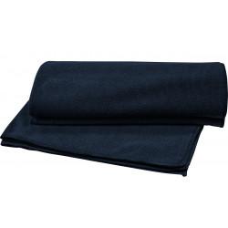 Granatowy ręcznik do twarzy