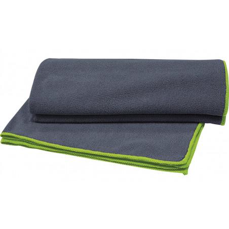 Szary ręcznik do buzi